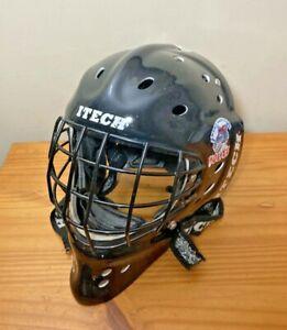 Itech Profile 2000 Junior Ice Hockey Goalie Helmet Black