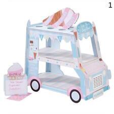ICE CREAM cupcake van Cars Display Stand Birthday wedding party decorate Favor^