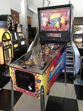 NBA FASTBREAK PINBALL MACHINE by BALLY ~ ~ SHOPPED & LED UPGRADED