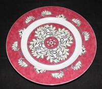 Christofle Porcelain China OCEANA ROUGE Red 7621 Accent Salad Plate 8 3/4""