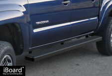 "4"" iBoard Running Boards Nerf Bars Fit 05-18 Toyota Tacoma Double Cab/Crew Cab"