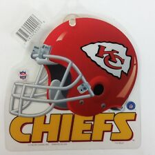 NFL Kansas City Chiefs Suction Cup Window Sign, NEW
