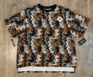 Nike Air Jordan X Patta Jumpman Men's XXL 2XL SS Shirt Multicolor AR3885-010 NWT
