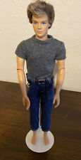 Barbie Ken Doll 1975-1999 Fashionista RYAN Articulated Male Rooted Brunette Hair