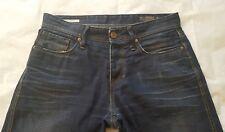 Jack And Jones Mens 100% Cotton Distressed Jeans Blue Size 30