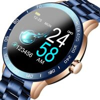LIGE Smart Watch Heart Rate Monitor Blood Pressure remote camera Fitness tracker