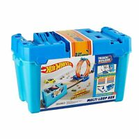 Hot Wheels FLK90 Track Builder Multi Loop Box Playset