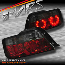 Smoked Red LED Tail Lights TOYOTA Chaser Sedan 96-00 JZX100 JDM Turbo