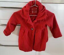 Pumpkin Patch Coat Jacket Girls Size 3 Red 🖤