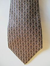 Hermes made in France cravatta tie seta 100% serie 7796 FA