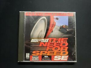 1996 Road & Track The Need For Speed SE Special Edition PC Game