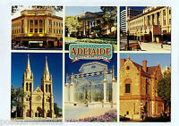 C0221cgt Australia SA Adelaide Historic Buildings Multiview postcard