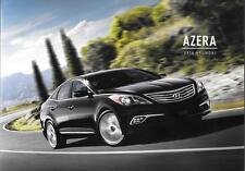 2016 16  Hyundai Azera  original  brochure MINT