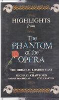 Highlights From The Phantom of The Opera - Original London Cast - Cassette