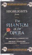 Highlights From The Phantom of The Opera - Original London Cast - Cassette
