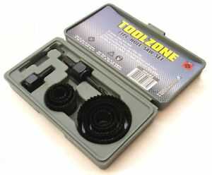 Rolson 58129 Holesaw Set - 12 Pieces - Only 2 left