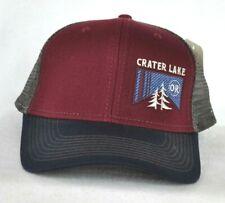 * Parque Nacional Lago de cráter * Bola De Malla de Oregon Camionero Gorra Sombrero * Ouray muestra *