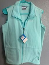 NWT COLUMBIA Fast Trek Mint Fleece Vest size Youth XL New