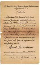 Antigua multa de tráfico. Málaga 1929
