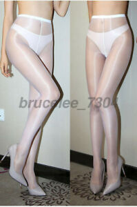 1den Ultra Thin Shiny Glossy Sheer Stockings Club Dance Highs Tights Pantyhose