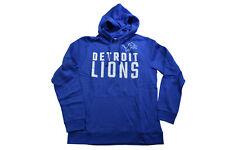 Nfl Team Apparel Mens Detroit Lions Pullover Hoodie Nwt S, M, L, Xl, 2Xl