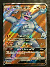 Pokemon!! Machomei GX Nacht In Flammen 135/147! Ultra Rare! Full Art! NM! EN!