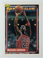 1992-93 TOPPS 50 Point Club MICHAEL JORDAN #205, Chicago Bulls, HOF