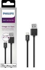 Câble lightning vers USB - 1 m - Noir - Philips
