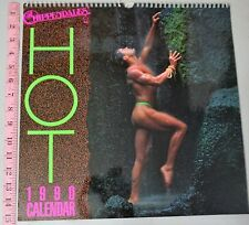 "CHIPPENDALES 1990 15 X 15"" Wall Calendar - NEW IN PACKAGE"
