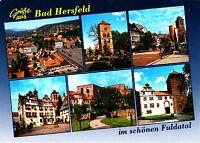 Bad Hersfeld , Ansichtskarte , gelaufen