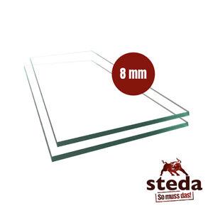 VSG Verbundsicherheitsglas aus Floatglas 8 mm klar, bis 6000 mm Länge