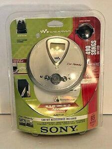SONY CD WALKMAN D-NE306CK WITH ATRAC DIGITAL SOUND 3PLUS MP3 CAR KIT INCLUDED