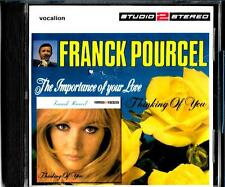 Franck Pourcel new/sealed 2cd set- The Importance Of Your Love/ Thinking Of You