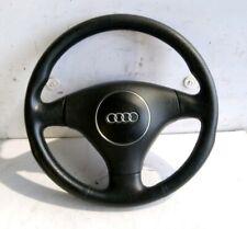2001 Audi A6 C5 Allroad 2.5 TDI Avant Black Leather 3-Spoke Steering Wheel