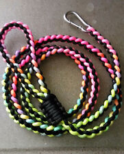 *PARACORD DOG LEASHES*  HEAVY DUTY ~ MADE TO ORDER ~ NEW