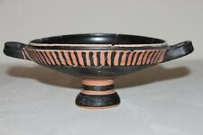 LARGE ANCIENT GREEK POTTERY KYLIX 4th CENTURY BC