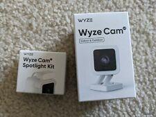 Wyze Cam V3 + Spotlight 1080p FHD WiFi Camera In/Outdoor IP65 Weatherproof - NEW