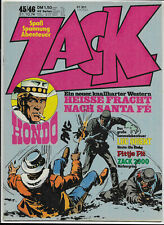 ZACK Nr.45/46 vom 31.10.1974 Pittje Pit, Luc Orient, Hondo, Häuptling Feuerauge