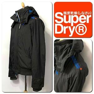 SuperDRY Men's Windbomber Hooded Jacket Size XL
