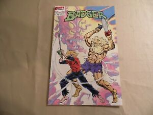 Badger #28 (First 1987) Free Domestic Shipping