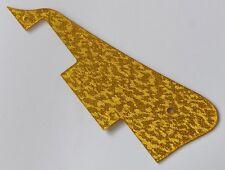 Gold Sparkle LP Guitar Pickguard Scratch Plate for Epiphone Standard Les Paul