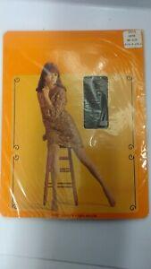 Rexham Nylon Vintage Stockings 8.5 - 11 one size Coffee Original Old New Brown