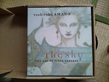 The Sky THE ART of Final Fantasy Yoshitaka Amano Art book 2001 Japanese