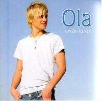 CD OLA SVENSSON Given to Fly,Eurovision,Melodifestivalen Schweden Sweden