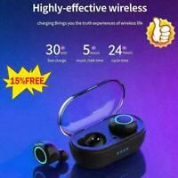 W12 Bluetooth 5.0 Mini-Headset TWS Wireless Earphones Earbuds Stereo Headphones