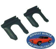 55-90 GM NOSR Disc Drum Brakes Rubber Brake Line Flex Hose Retaining Clips 2p CV