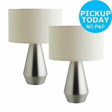 Habitat metal table lamps ebay habitat maya touch base table lamps set of 2 from the argos shop on aloadofball Image collections