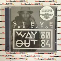 Steve Arrington - Way Out (CD, 2014) *New & Sealed*