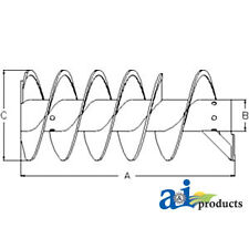 John Deere Parts VERTICAL UNLOADING AUGER  AH146840 9750STS,9670STS,9660STS,9650
