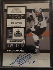 10/11 Playoff Contenders Kyle Clifford RC  Auto #139 L A Kings